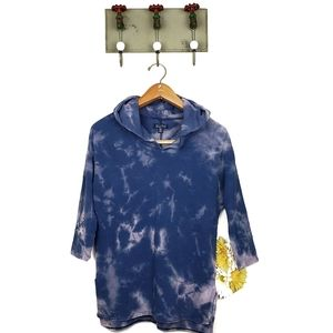 American Eagle Outfitters bleached hoodie XS